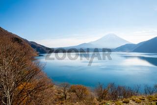 Mount Fuji at Motosu Japan