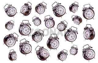 concept of old alarm bells
