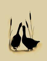 Goose love card