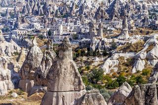 Goreme Valley Village  Cappadocia Turkey