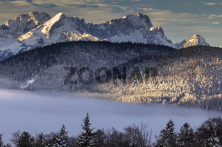 Sonnenaufgang Karwendel 2