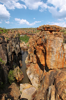 Bourke's luck potholes an der Panorama Route, Mpumalanga, Südafrika,  bourke's luck potholes at Panorama route in South Africa