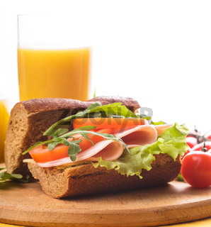 Wholegrain sandwich
