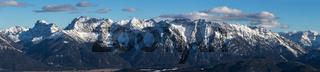 Nördlicher Karwendelkette im Winter