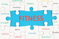 Fitness concept words