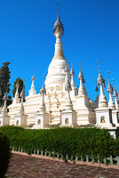 The white pagoda in the Yunnan Nationalities Village