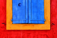 Fenster in Greoux Provence