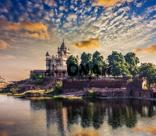 Jaswanth Thada mausoleum, Jodhpur, Rajasthan