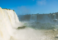 Great Iguacu Waterfalls view from Brazil side