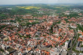 Erfurt von oben