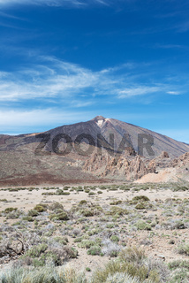 Teide volcano at National Park
