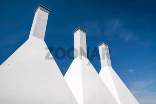A smokehouse chimney on Bornholm