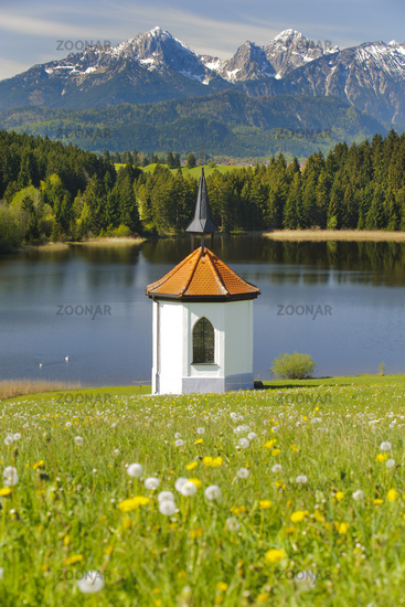 Alpenpanorama in Bayern