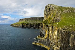 Steilküste auf der Halbinsel Duirinish