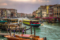 Canal Grande am Abend, Venedig