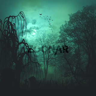 Abstract horror backgrounds for your design
