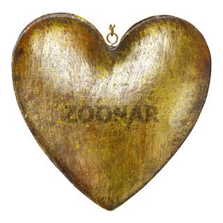 Herz aus Metall