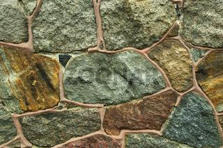 Feldsteinmauer / Fieldstone Wall