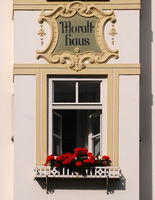Bad Toelz Moralt Haus Detail