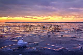 Frozen Dnieper