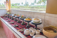 Indonesian buffet