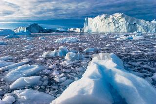Eisberge in der Disco-Bucht, Grönland