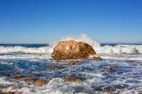 Waves Coming Ashore