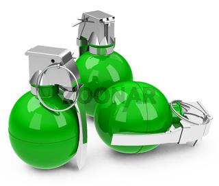 the green granades