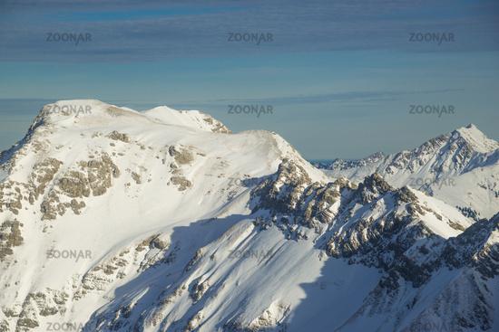 Klettersteig Deutschland : Foto winteraufnahme hindelanger klettersteig vom nebelhorn m