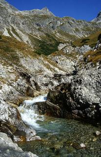 Maedelejoch, Allgaeuer Alpen; Heilbronner Hoehenweg