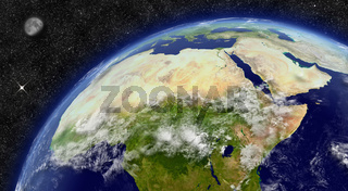 North Africa on planet Earth