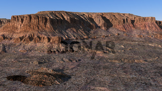 Wadi Rum, Jordanien, mittags
