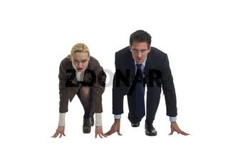 Kampf zwischen Mann und Frau