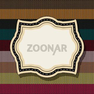 Retro style vintage label 5