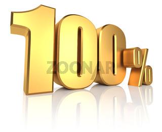 Gold 100 Percent
