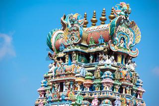 Meenakshi Temple in Madurai. India, Madurai