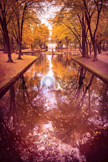 park in fall