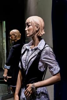 Schaufenster Puppe
