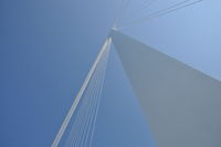 Brücke in La Spezia, Italien