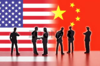 Beziehungen zwischen den USA und China