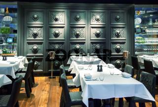 decorative restaurant wall