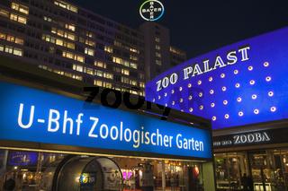 U-Bahnhof Zoologischer Garten, Zoo Palast, Berlin