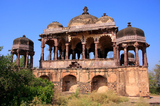 Arched temple at Ranthambore Fort, India