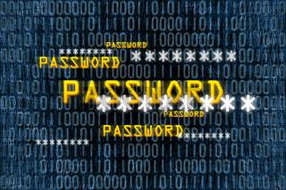 binary password background