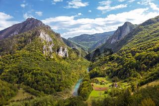 Tara River Canyon, Montenegro