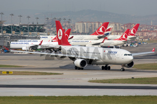 Turkish Airlines Airbus A330-200 Flughafen Istanbul