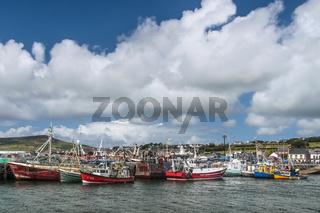 Fishing harbor of Dingle