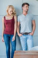 Middle Age Caucasian Couple Fashion Shoot