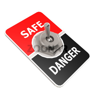 Safe toggle switch
