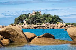 Atlantikküste in der Bretagne